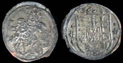 World Coins - 1523 Hungary Denar - Louis II XF