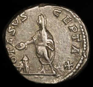 Ancient Coins - Caracalla Denarius - VOTA SVSCEPTAX - Rome Mint