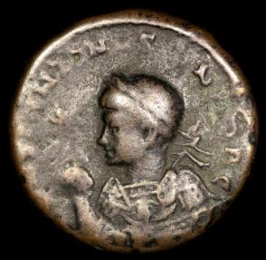 Ancient Coins - Constantine I Ae3 - BEATA TRANQVILLITAS - Treveri Mint