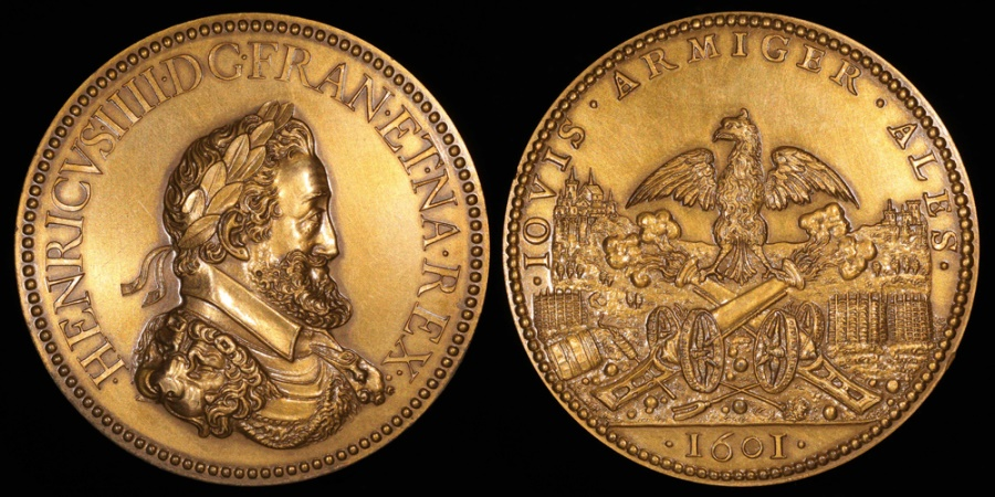 World Coins - 1601 France - Henry IV - The Artillery by Philippe Danfrie