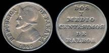 World Coins - 1940 Panama 2-1/2 Centesimos VF