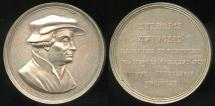 World Coins - 1819  Switzerland - 300 Years of Reformation in Switzerland - Ulrich Zwingli, Swiss Patriot and Reformer by Peter Bruckmann
