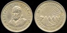 World Coins - 1939 Nicaragua 10 Centavos AU