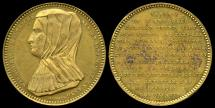World Coins - 1530  Belgium - Margaret of Austria, Duchess of Savoy Commemorative Medal by Adolphe Christian Jouvenel.