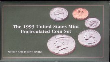 Us Coins - 1993 US Mint Set