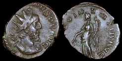 Ancient Coins - Victorinus Antoninianus - PROVIDENTIA AVG - Southern Mint