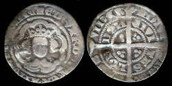 World Coins - 1327-1377 - Edward III - Halfgroat - London Mint
