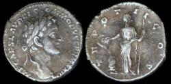 Ancient Coins - Commodus Denarius - TR POT III COS - Rome Mint