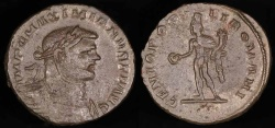 Ancient Coins - Maximianus Follis - GENIO POPVLI ROMANI - London Mint