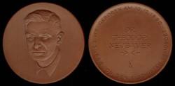 World Coins - 1947-1973 - German Democratic Republic : Theodor Neubauer Commemorative Medal