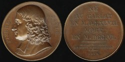 World Coins - 1819 France - Pierre Bayle by Francois-Augustin Caunois
