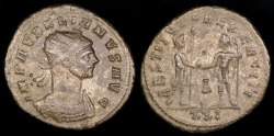 Ancient Coins - Aurelian Antoninianus - RESTITVTOR EXERCITI - Cyzicus Mint
