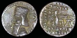 Ancient Coins - Gotarzes II Drachm - Ecbatana Mint