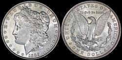 Us Coins - 1889 Morgan Dollar