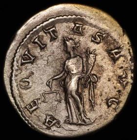 Ancient Coins - Gordian III Antoninianus - AEQVITAS AUG - Rome Mint