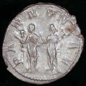 Ancient Coins - Trajan Decius Antoninianus - PANNONIAE - Rome Mint