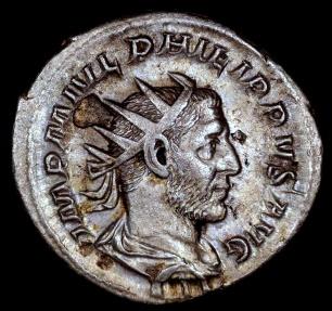 Ancient Coins - Philip I Antoninianus - P M TR P III COS P P - Rome Mint