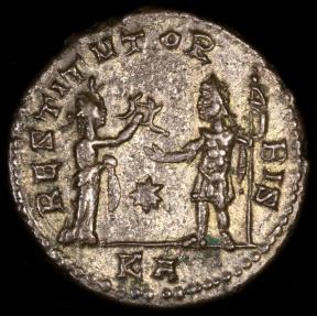 Ancient Coins - Aurelian Antoninianus - RESTITVT ORBIS - Tripolis Mint