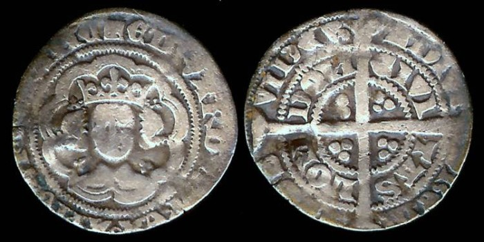 World Coins - 1327-1377 - Edward III - Halfgroat - London Mint