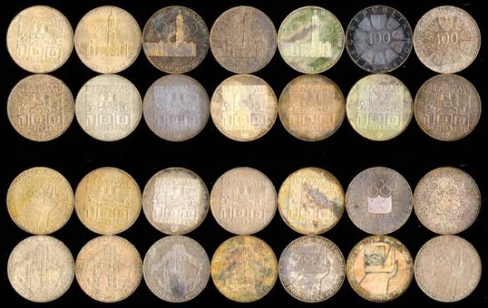 1976 Austria Innsbruck Olympic Games Coin Set