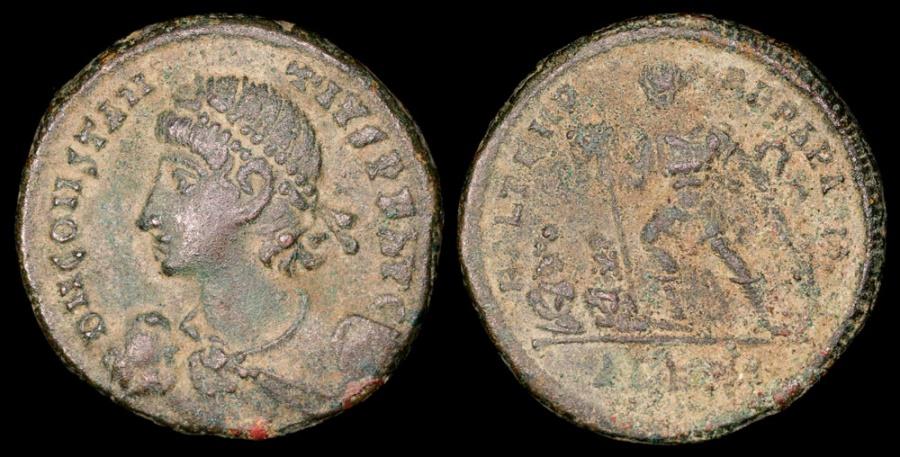 Ancient Coins - Constantius II Centenionalis - FEL TEMP REPARATIO - Alexandria Mint