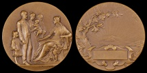 World Coins - 1885 France - L'Action Mutualiste by Georges-Henri Lemaire