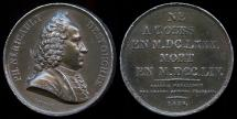 World Coins - 1820 France - Philippe Néricault Destouches, French Dramatist by Francois-Augustin Caunois