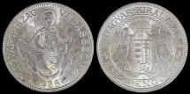 World Coins - 1938 BP Hungary 2 Pengo - Kingdom - UNC Silver