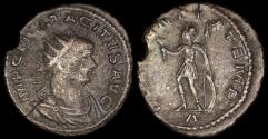 Ancient Coins - Tacitus Antoninianus - CLEMENTIA TEMP - Cyzicus Mint