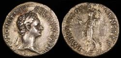 Ancient Coins - Domonitian Denarius - IMP XXII COS XVII CENS P P - Rome Mint