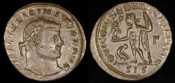 Ancient Coins - Licinius I Reduced Follis - IOVI CONSERVATORI AVGG NN - Siscia Mint