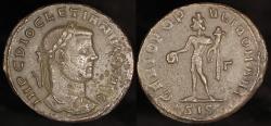 Ancient Coins - Diocletian Follis - GENIO POPVLI ROMANI - Siscia Mint