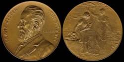 World Coins - 1883 Austria – Franz Ritter Von Schmitt – 50 Year Anniversary of the Company