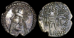 Ancient Coins - Vologases VI Drachm (208-228 AD) - Ecbatana Mint