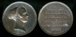 World Coins - 1837 GB - Harriet Georgiana Duchess of Sutherland Mistress of the Robes