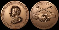 """Us Coins - 1849 Zachary Taylor """"Indian Peace Medal"""" – Twelfth President of the United States (March 4, 1849 to July 9, 1850) - Original US Mint Medal by Henry Kirke Brown and John Reich"""