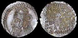 Ancient Coins - Vologases IV Drachm (147-191 AD) - Ecbatana Mint