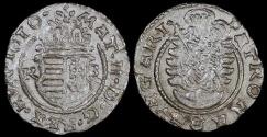 World Coins - 1610 KB Hungary 1 Denar - Mathias II - AU Silver