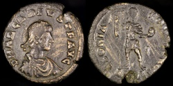 Ancient Coins - Arcadius Light Miliarensis - GLORIA ROMANORVM