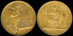 World Coins - 1815 France - Jeton - Paris University Law School