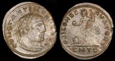 Ancient Coins - Constantine I Follis - IOVI CONSERVATORI AVGG NN - Thessalonica Mint