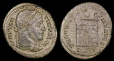 Ancient Coins - Constantine I Ae3 - PROVIDENTIAE AVGG - Rome Mint