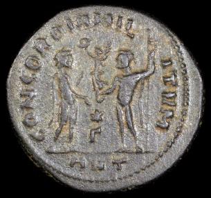 Ancient Coins - Diocletian Antoninianus - CONCORDIA MILITVM - Antioch Mint