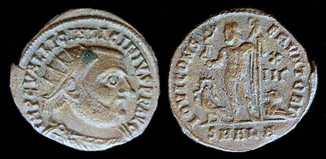 Ancient Coins - Licinius I Follis - IOVI CONSERVATORI - Alexandria