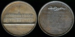 World Coins - 1895 Argentina – Inauguration of the Medical Science Faculty Building at the University of Buenos Aires
