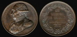 World Coins - 1817 France - Louis-Joseph Bourbon