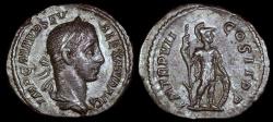 Ancient Coins - Severus Alexander Denarius - ABVNDANTIA AVG - Rome Mint