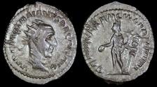 Ancient Coins - Trajan Decius Antoninianus - GENIVS EXERC ILLVRICIANI - Rome Mint