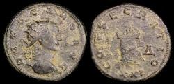 Ancient Coins - Carus Antoninianus - CONSECRATIO - Siscia Mint