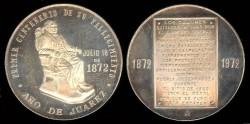 World Coins - 1972 Mexico – Benito Juarez – Centennial of his Death Commemorative Medal